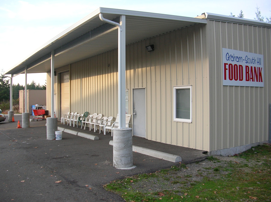Industrial Metal Awnings Company in Sumner WA