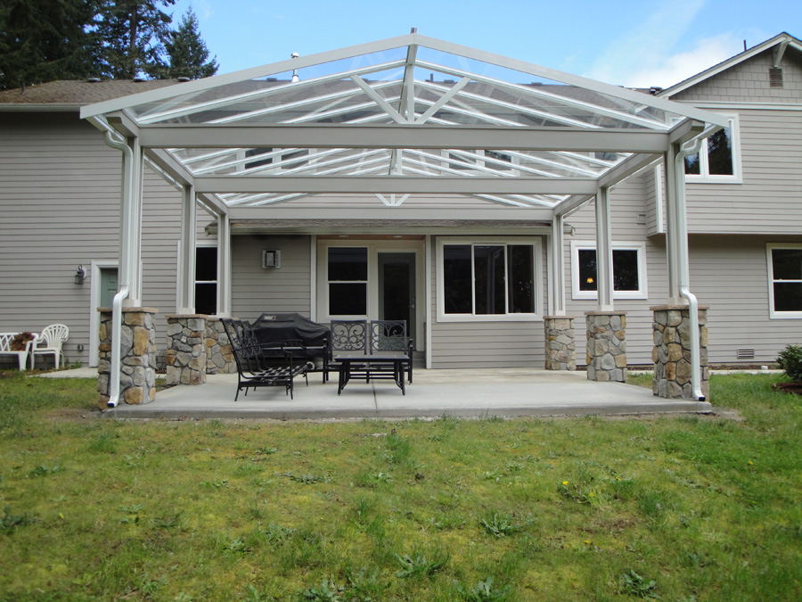 Flat Pan Patio Covers Contractor in Auburn WA