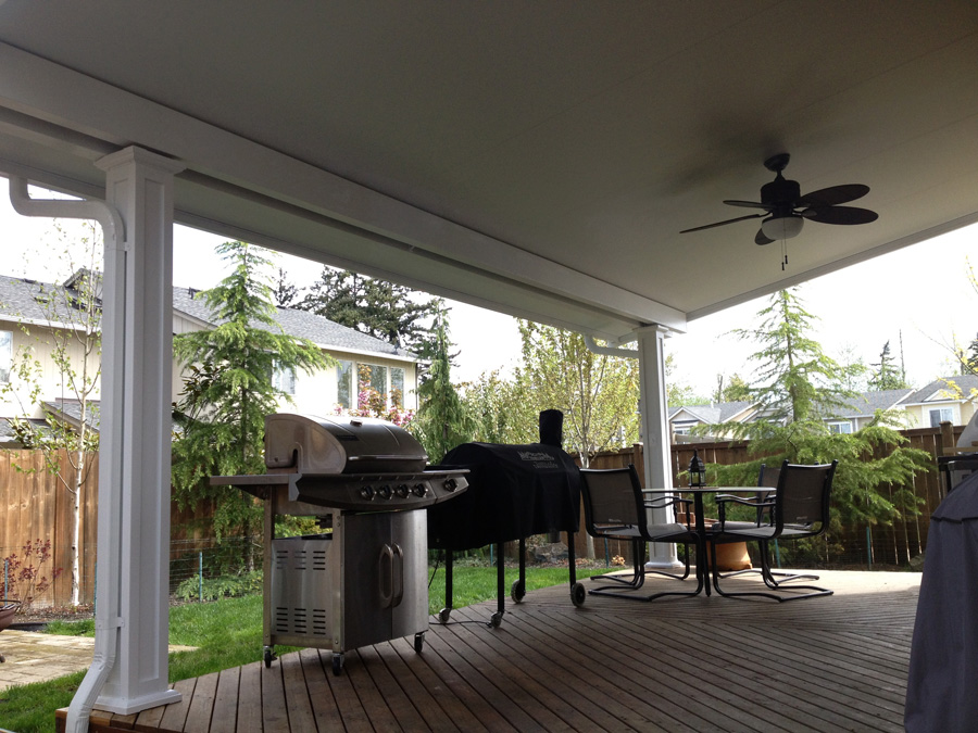 Patio Covers and All Aluminum Patio Covers and Awnings Contractor in Kent WA